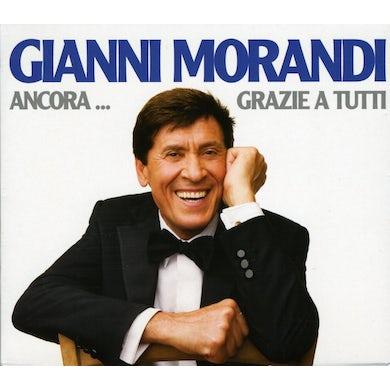 Gianni Morandi ANCORA: GRAZIE A TUTTI CD