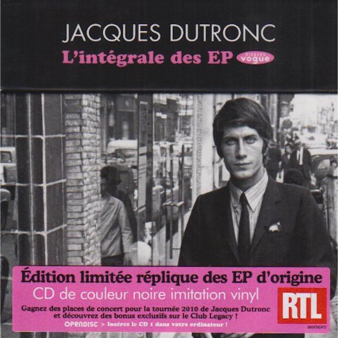 Jacques Dutronc LINTEGRALE DES EP VOGUE CD
