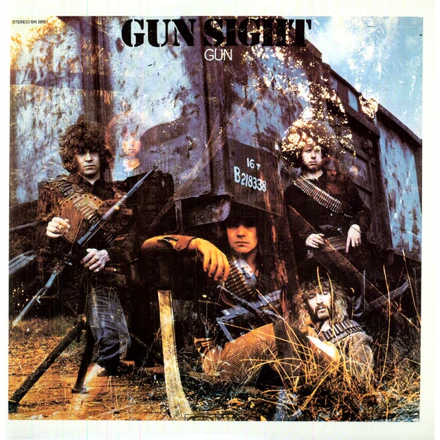Gun SIGHT Vinyl Record
