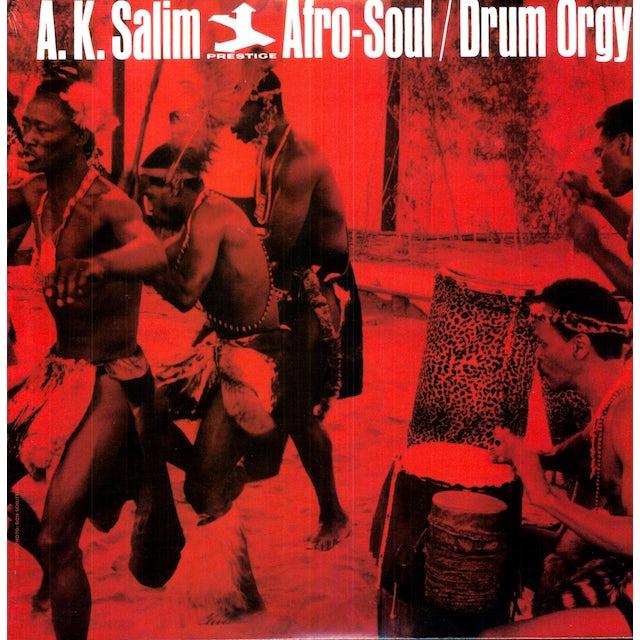 Ak Salim AFRO-SOUL / DRUM ORGY Vinyl Record