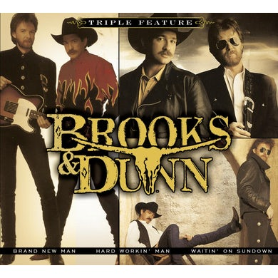 Brooks & Dunn TRIPLE FEATURE (SOFTPACK) CD
