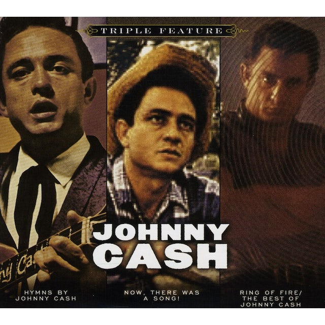 Johnny Cash TRIPLE FEATURE (SOFTPACK) CD