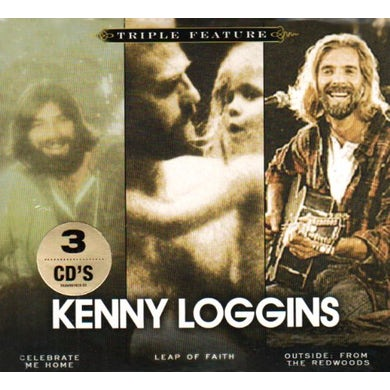 Kenny Loggins TRIPLE FEATURE (SOFTPACK) CD
