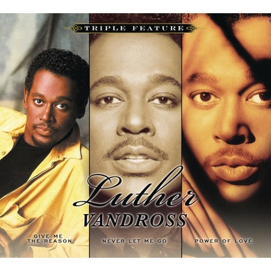 Luther Vandross TRIPLE FEATURE (SOFTPACK) CD