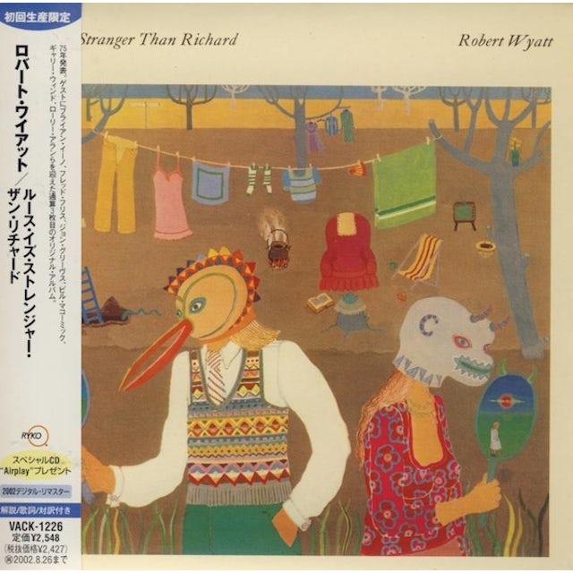Robert Wyatt RUTH IS STRANGER THAN RICHARD Vinyl Record
