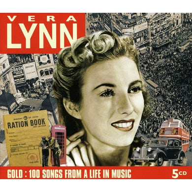 Vera Lynn GOLD: 100 SONGS FROM A LIFE IN MUSIC CD