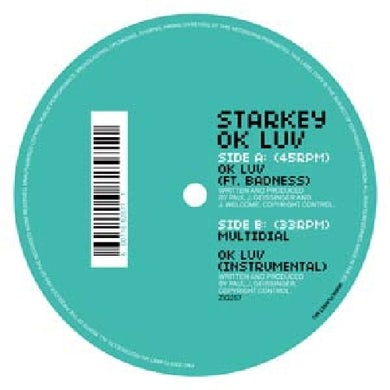 Starkey OK LUV Vinyl Record