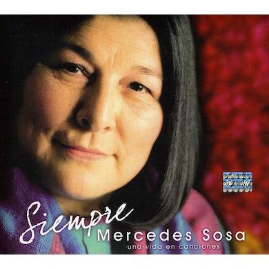 Mercedes Sosa SIEMPRE: UNA VIDA EN CANCIONES CD
