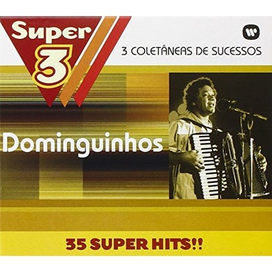 Dominguinhos SUPER 3: TRES VEZES MAIS MUSICAS CD