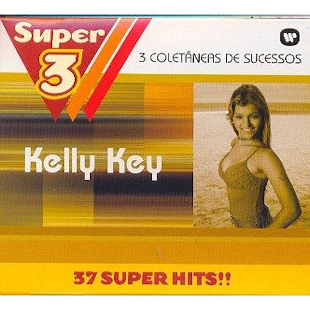 Kelly Key SUPER 3: TRES VEZES MAIS MUSICAS CD