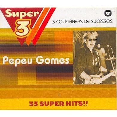 Pepeu Gomes SUPER 3: TRES VEZES MAIS MUSICAS CD