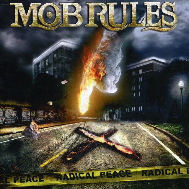 Mob Rules RADICAL PEACE CD