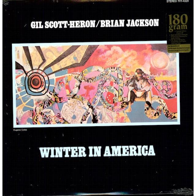 Gil Scott-Heron & Brian Jackson WINTER IN AMERICA Vinyl Record
