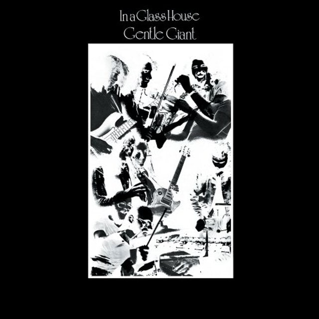 Gentle Giant IN GLASS HOUSE CD
