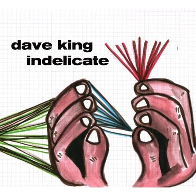 Dave King INDELICATE CD