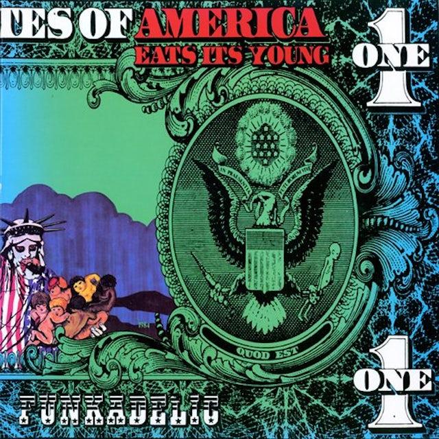 Funkadelic AMERICA EATS IT YOUNG Vinyl Record