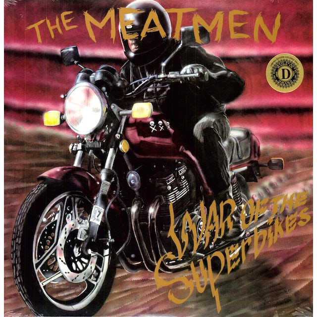 The Meatmen WAR OF THE SUPERBIKES Vinyl Record