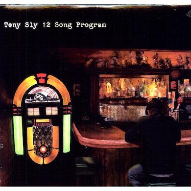 Tony Sly 12 SONG PROGRAM Vinyl Record