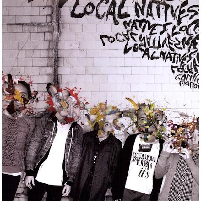 Local Natives GORILLA MANOR Vinyl Record