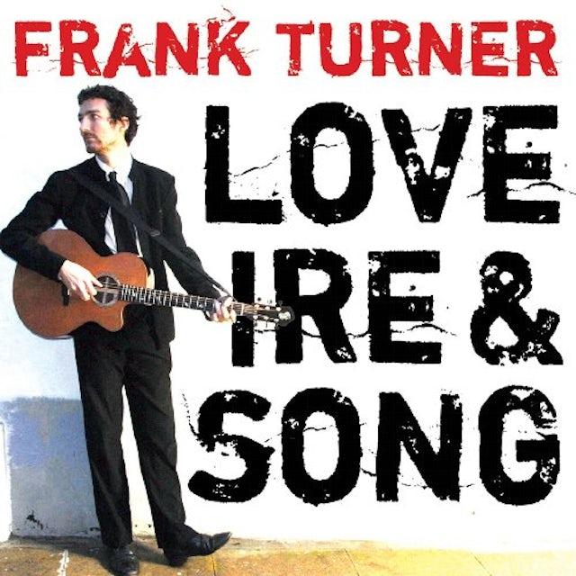 Frank Turner LOVE IRE & SONG Vinyl Record