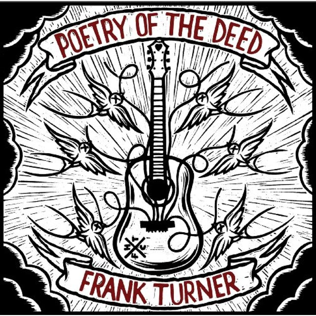 Frank Turner POETRY OF THE DEED Vinyl Record