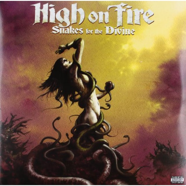 High On Fire SNAKES FOR THE DIVINE Vinyl Record