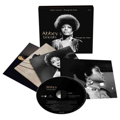 Abbey Lincoln THROUGH THE YEARS CD