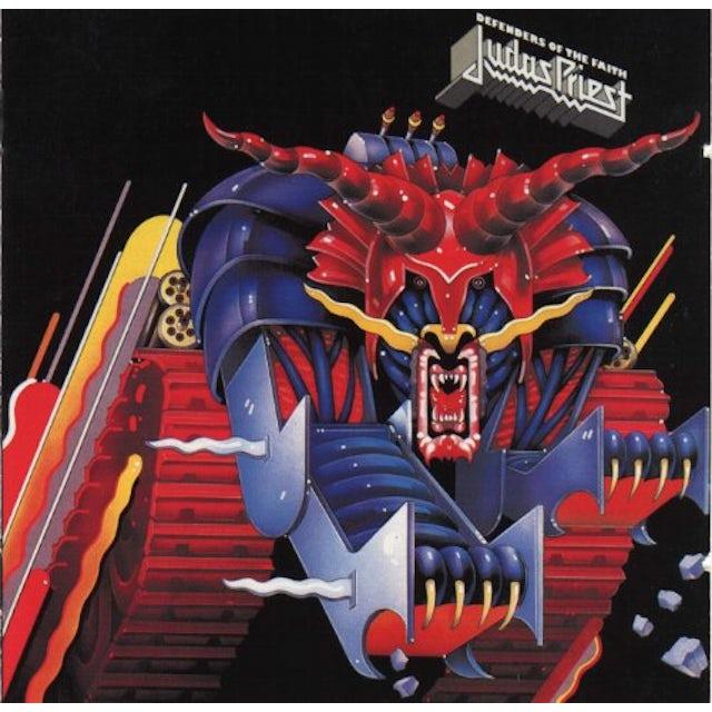 Judas Priest DEFENDERS OF THE FAITH Vinyl Record - 180 Gram Pressing