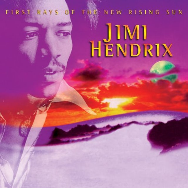 Jimi Hendrix FIRST RAYS OF THE NEW RISING SUN Vinyl Record - 180 Gram Pressing