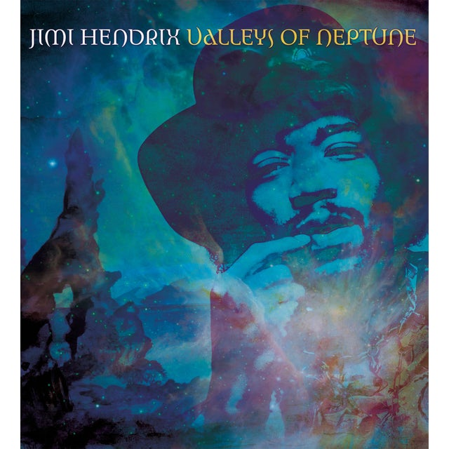 Jimi Hendrix VALLEYS OF NEPTUNE Vinyl Record