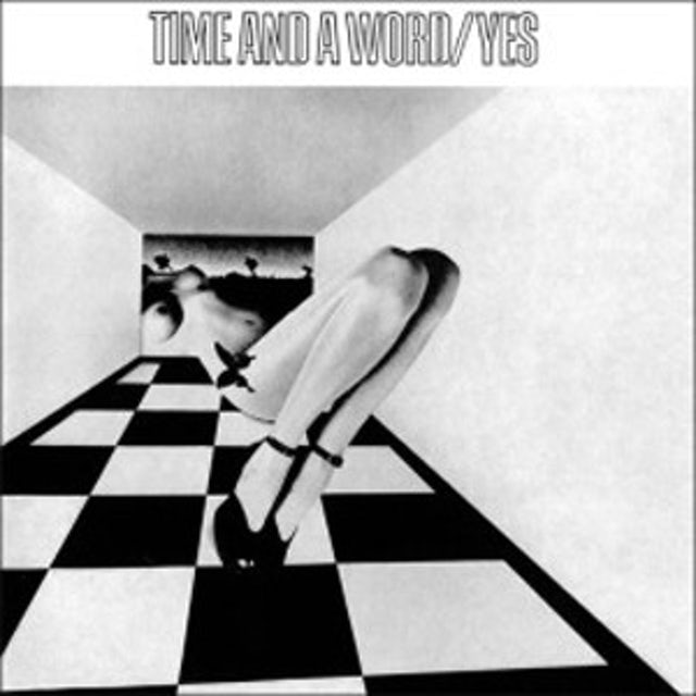 Yes TIME & A WORD Vinyl Record