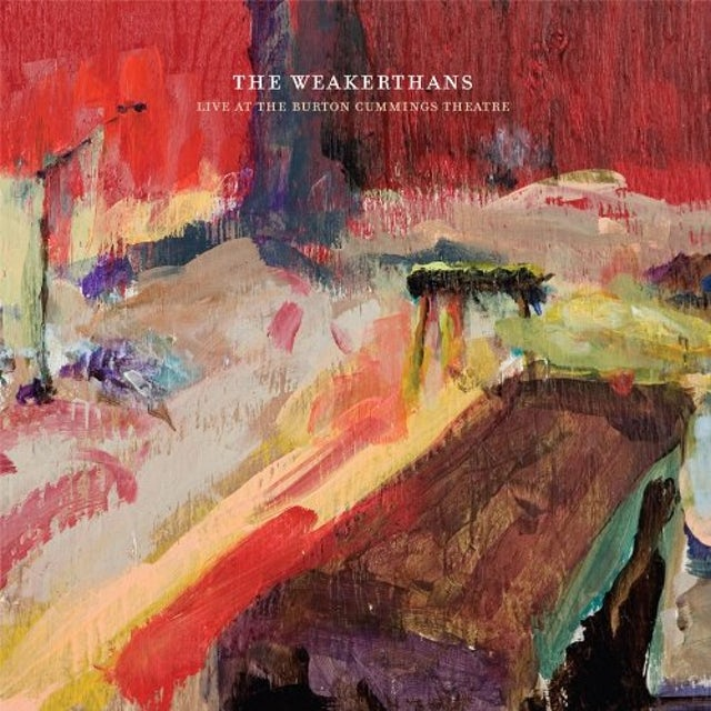 The Weakerthans LIVE AT THE BURTON CUMMINGS THEATRE Vinyl Record