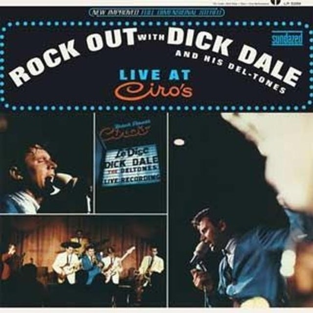 Dick Dale & Del-Tones ROCK OUT WITH DICK DALE AND HIS DEL-TONES Vinyl Record