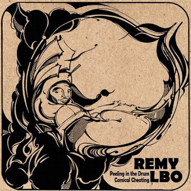 Remy Lbo PEELING IN THE DRUM & COMICAL CHEATING Vinyl Record