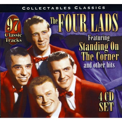 VERY BEST OF THE FOUR LADS CD