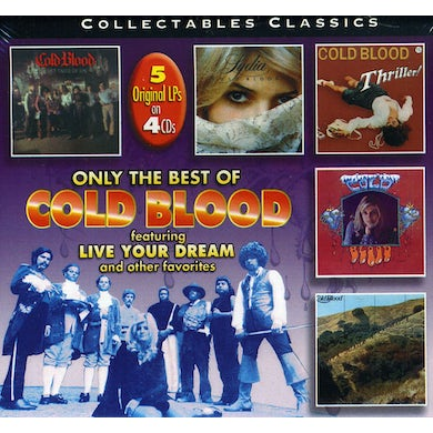VERY BEST OF COLD BLOOD CD