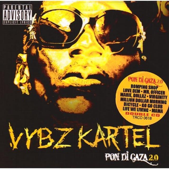 Vybz Kartel PON DI GAZA 2.0 CD