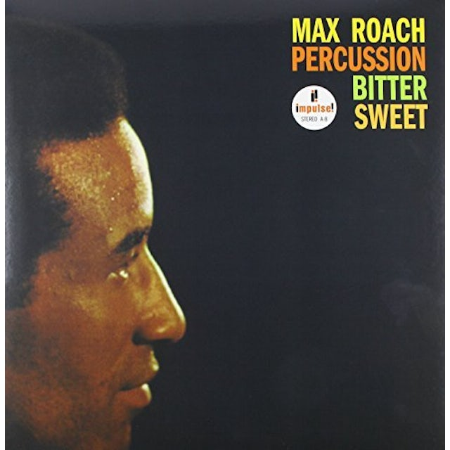 Max Roach PERCUSSION BITTER SWEET Vinyl Record