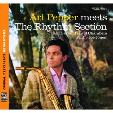 Art Pepper MEETS THE RHYTHM SECTION CD
