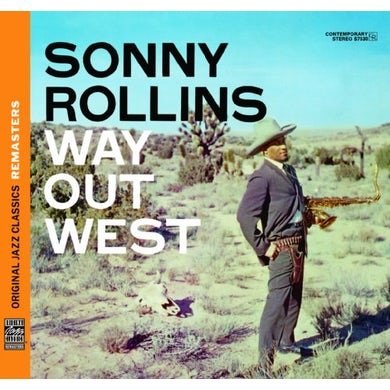 Sonny Rollins WAY OUT WEST CD