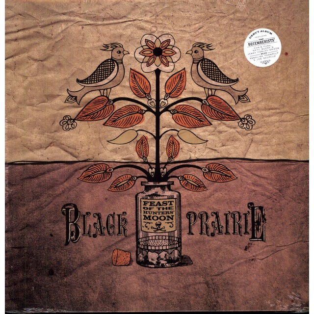 Black Prairie FEAST OF THE HUNTERS MOON Vinyl Record