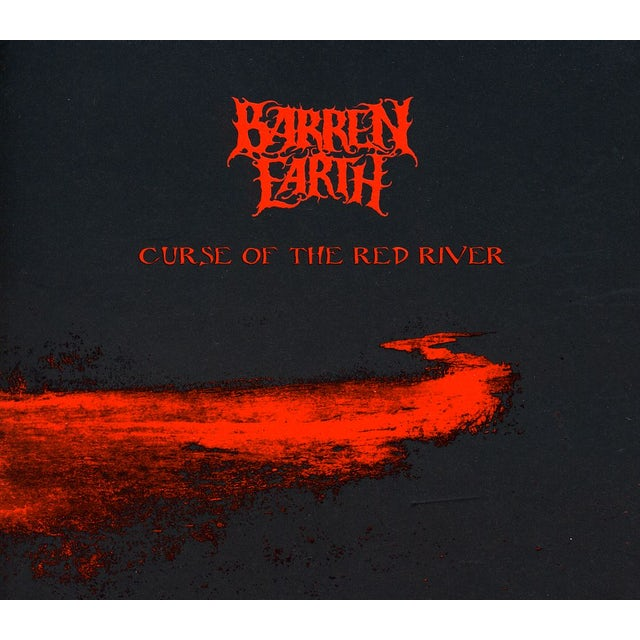 Barren Earth CURSE OF THE RED RIVER CD