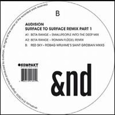 Audision SURFACE TO SURFACE REMIX 1 Vinyl Record