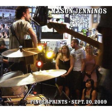 Mason Jennings FINGER PRINTS: SEPTEMBER 20 2009 CD
