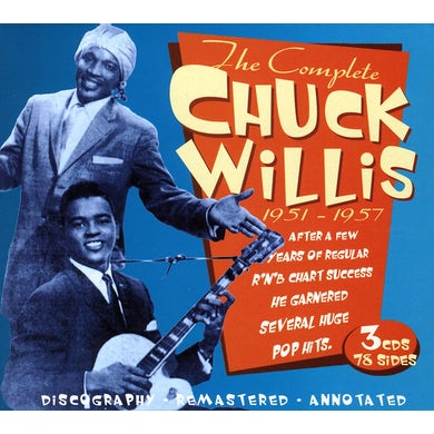 COMPLETE CHUCK WILLIS 1951-1957 CD