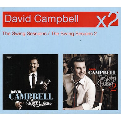 David Campbell SWING SESSIONS 1 & 2 CD