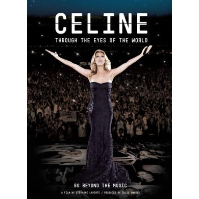Celine Dion CELINE: THROUGH THE EYES OF THE WORLD Blu-ray