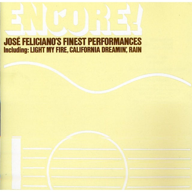 ENCORE JOSE FELICIANO CD