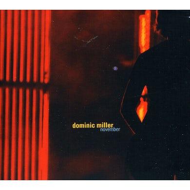 Dominic Miller NOVEMBER CD