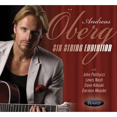 Andreas Oberg SIX STRINGS EVOLUTION CD